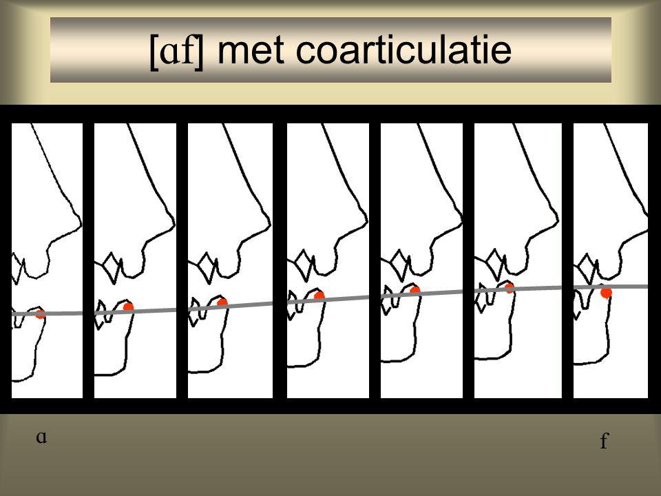 [] met coarticulatie